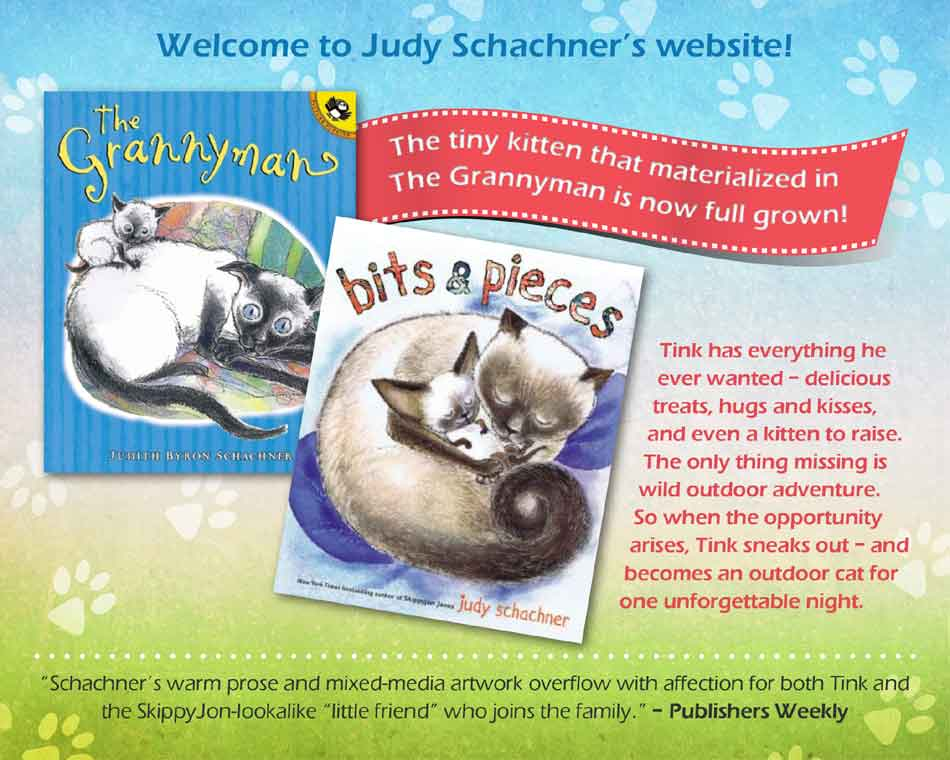 Judy Schachner's website